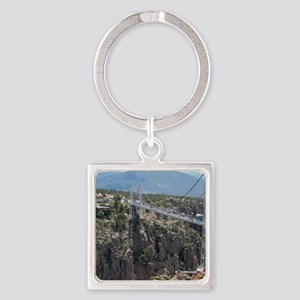 Royal Gorge Bridge Jan Square Keychain