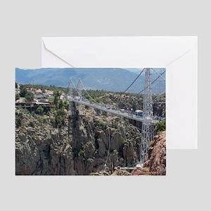 Royal Gorge Bridge Jan Greeting Card