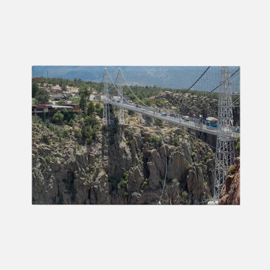 Royal Gorge Bridge Jan Rectangle Magnet