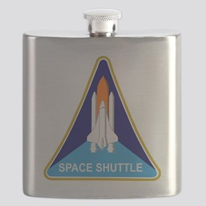 Space Shuttle Shield Flask