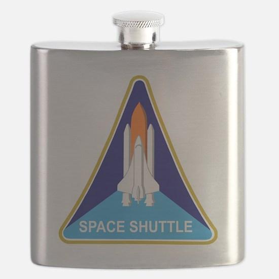 Space Shuttle Shield Flask