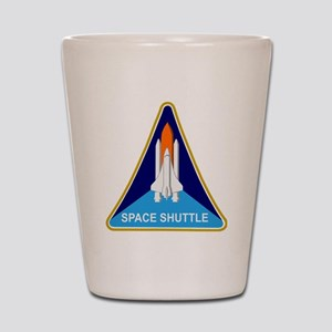 Space Shuttle Shield Shot Glass