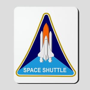Space Shuttle Shield Mousepad
