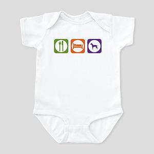 Eat Sleep Ridgeback Infant Bodysuit