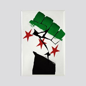 Syrian Strength Rectangle Magnet