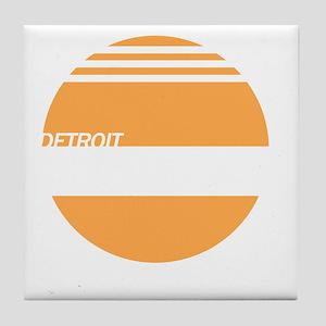 Detroit Express Tile Coaster