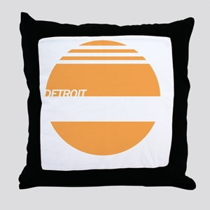 Detroit Express Throw Pillow