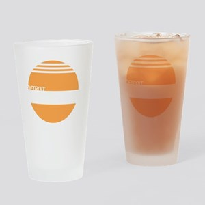Detroit Express Drinking Glass