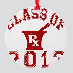 Class Of 2013 Pharmacist Round Ornament