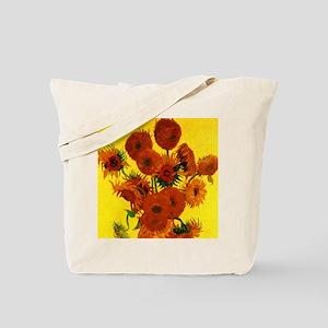 Van Gogh Fifteen Sunflowers Tote Bag