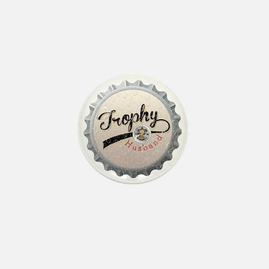 Trophy Husband Bottle Cap Mini Button