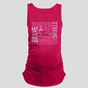 - Tribute Square Breast Cancer Maternity Tank Top