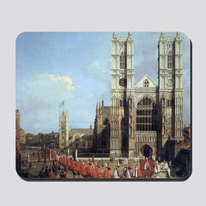 Canaletto Westminster Abbey Mousepad