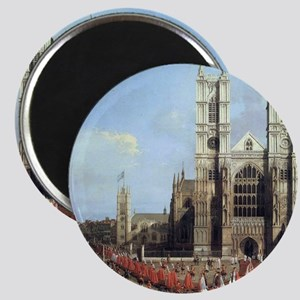 Canaletto Westminster Abbey Magnet