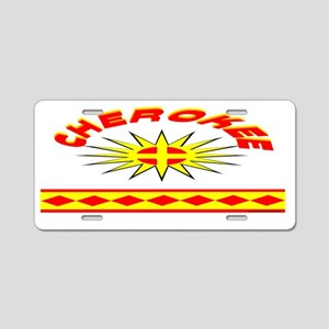 CHEROKEE INDIAN Aluminum License Plate