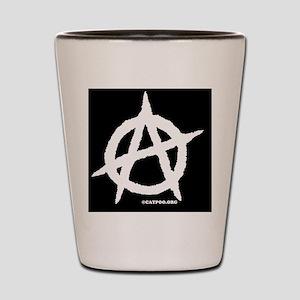 R-AnaMensWalletBlack Shot Glass