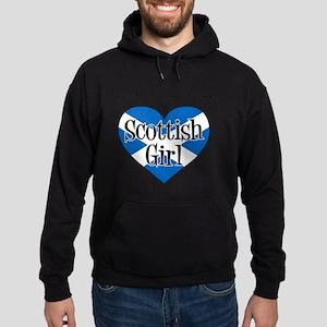 Everyone Loves Scottish Girl Hoodie (dark)