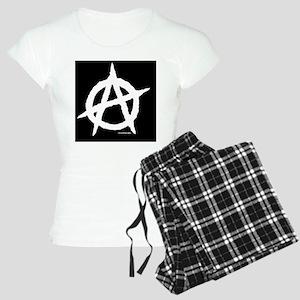 R-Anaipad2sleeve Women's Light Pajamas