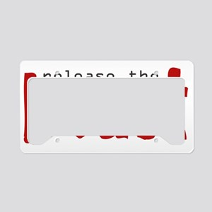 release_the_beast License Plate Holder