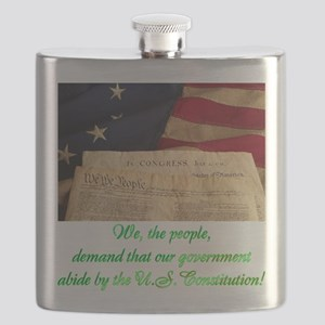 We The People Demand Flask