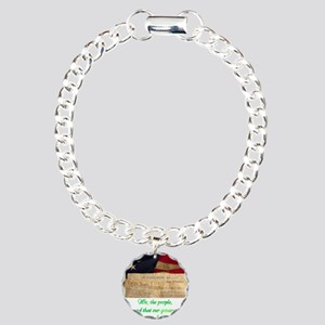 We The People Demand Charm Bracelet, One Charm