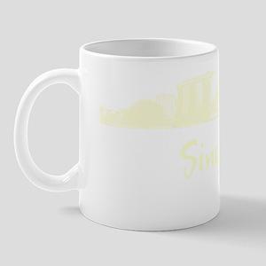 Singapore_10x10_Skyline_Cream Mug