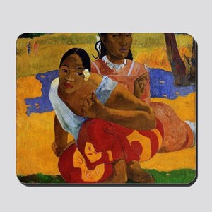 Paul Gauguin Married Mousepad
