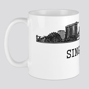 Singapore_10x10_Skyline_Capital_Black Mug