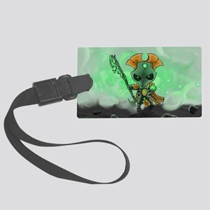 Robot Overlord Large Luggage Tag