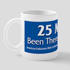 25 Mile Bumper Sticker Mug