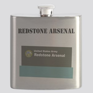 Redstone Arsenal with Text Flask