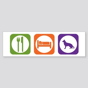 Eat Sleep Shepherd Bumper Sticker