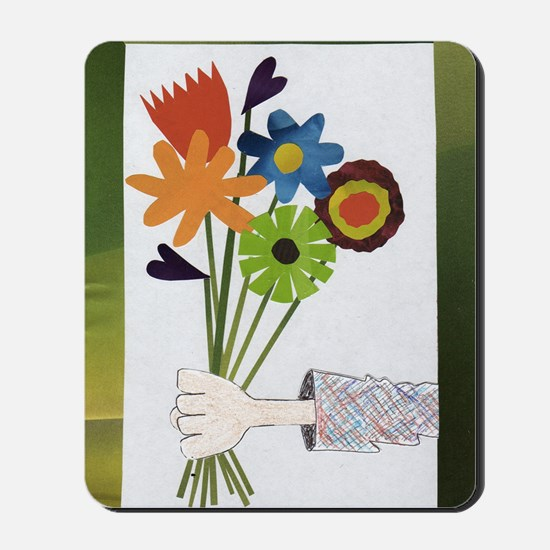 Pretty Flower Delivery Mousepad
