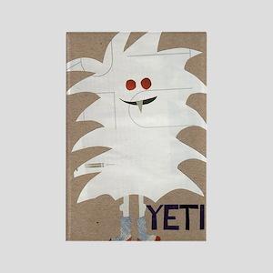 Yeti Sighting! Greeting Card Rectangle Magnet