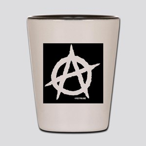 R-AnaLuggHandleWrapBlack-d Shot Glass