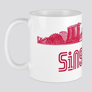 Singapore_12x12_Skyline_Red Mug