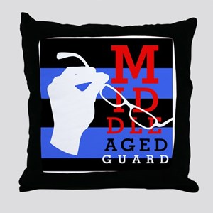 MAG variations Throw Pillow