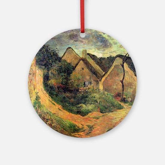 Paul Gauguin Ansteigender Round Ornament