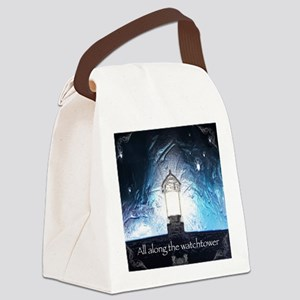 All Along The Watchtower Canvas Lunch Bag