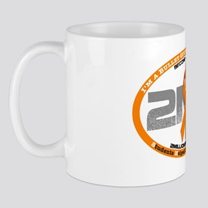 gray logo Mug