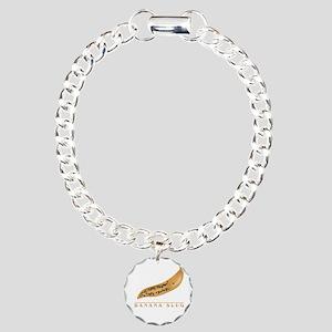 Banana Slug Charm Bracelet, One Charm