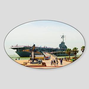 USS Lex_TGP1289 Sticker (Oval)
