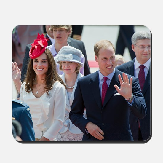 Will and Kate Mousepad