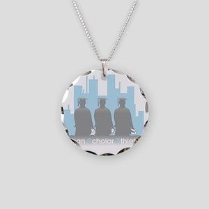 Urban Scholar Athletes Necklace Circle Charm