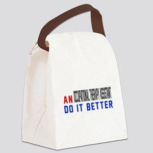 Occupational Therapy Assistant Do Canvas Lunch Bag