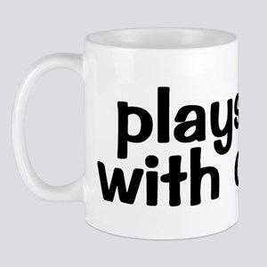 PLAYS WELL WITH OTHERS Mug