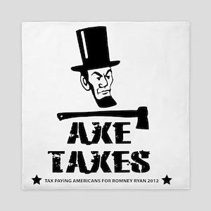 Axe Taxes Queen Duvet