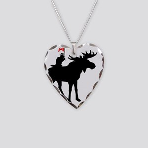 Oh Canada ! Necklace Heart Charm