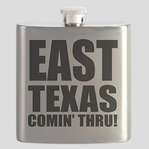 ETX BLACK LETTERS DESIGN Flask