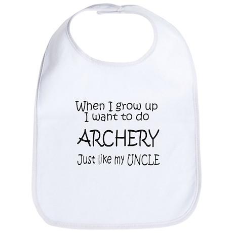 WIGU Archery Uncle Bib
